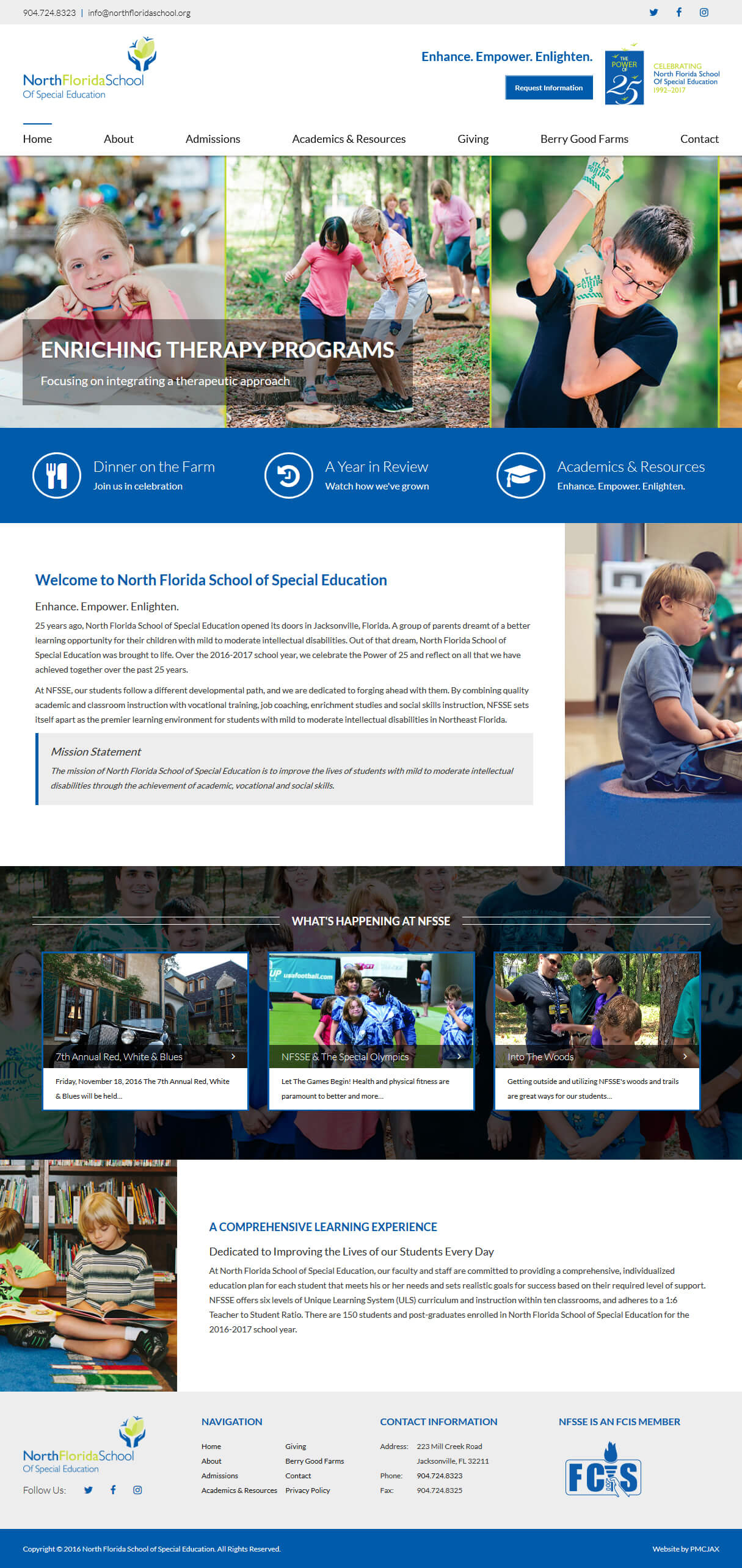 Nonprofit Website Design - Special Education Website