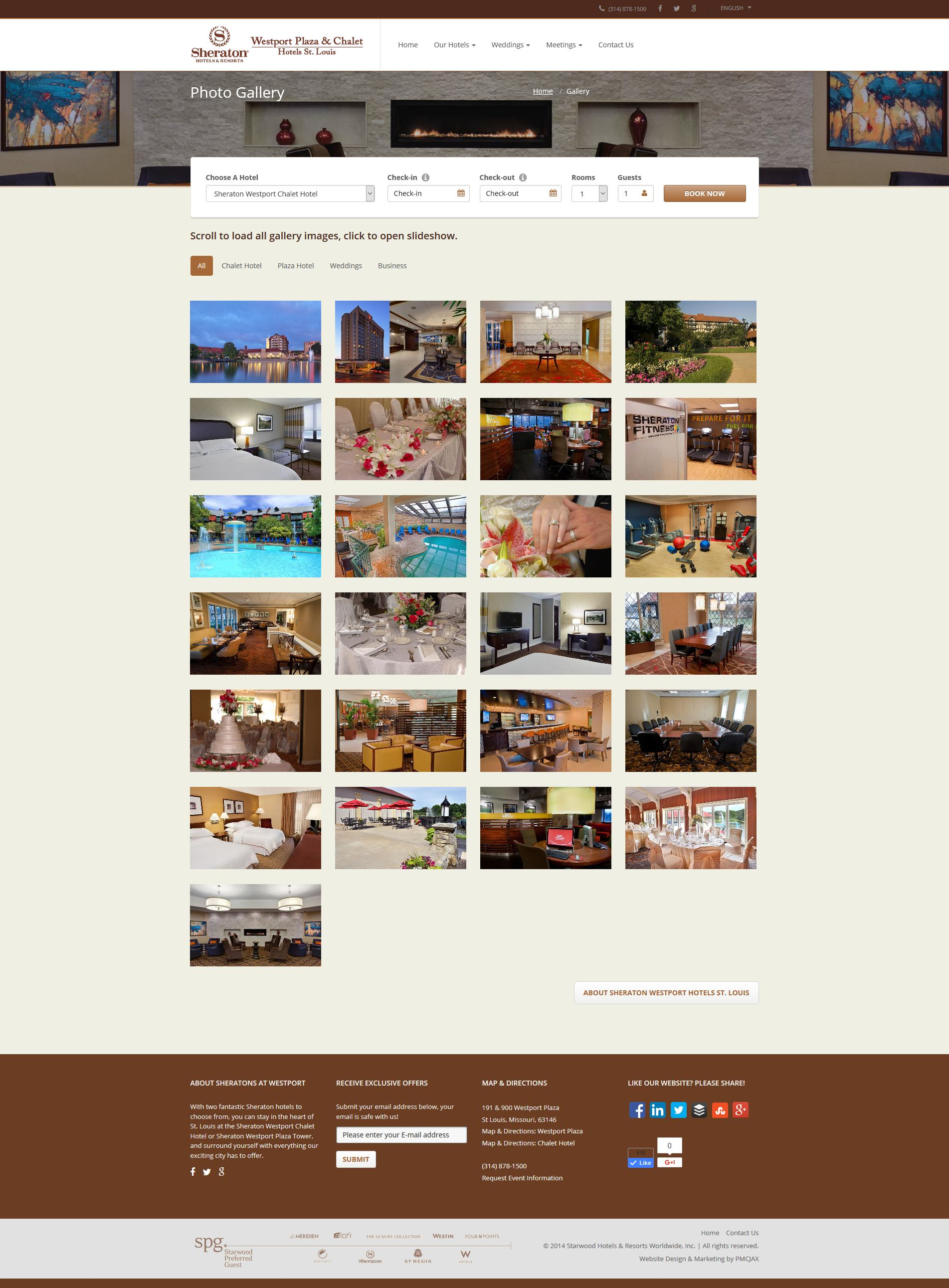 Custom Responsive Hotel Website Design Company