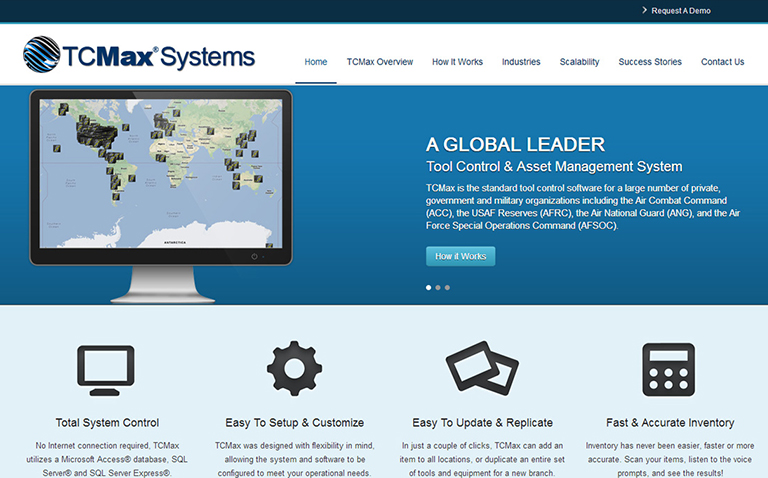 Industrial and Software Website Design Company - PMCJAX